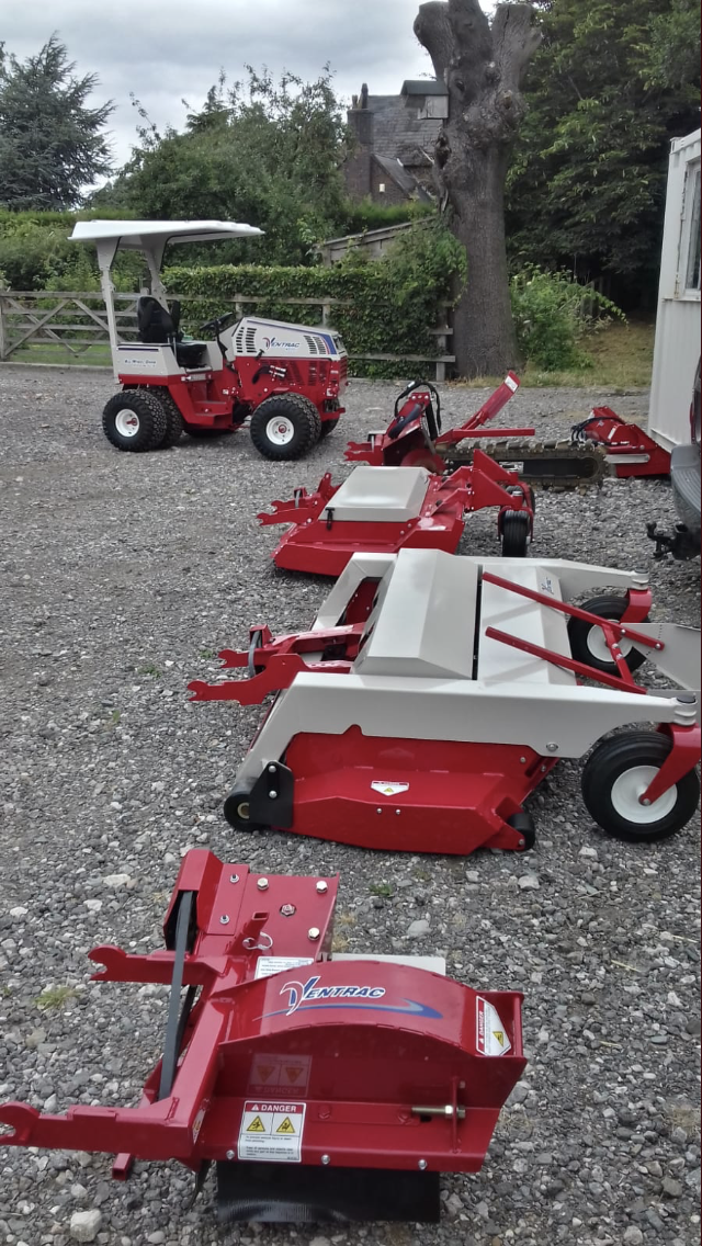 Ventrac and Attachments