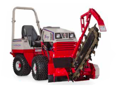 Ventrac KY400 Trencher