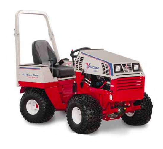 Ventrac Tractor Whitemoss Eco